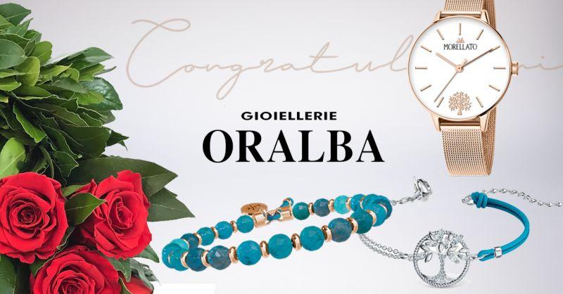 GIOIELLERIE ORALBA - Offerta Idea Regalo Laurea Ragazza Alba Cuneo Valenza