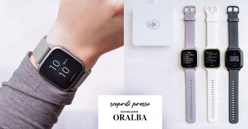 GIOIELLERIA ORALBA - Offerta Nuovo Smartwatch Garmin Cuneo Valenza