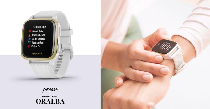 GIOIELLERIE ORALBA - Offerta Venu sq Smartwatch Gps Garmin Alba Cuneo Valenza