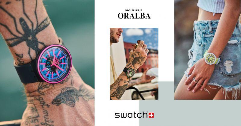 GIOIELLERIE ORALBA - Occasione Orologi Swatch BIg Bold Alba Cuneo Valenza