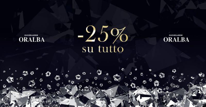 GIOIELLERIA ORALBA - Offerta Sconto Black Friday Gioielli Alba Cuneo Valenza