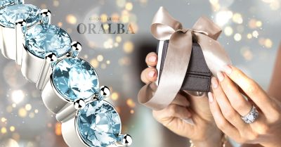 gioiellerie oralba offerta anello acquamarina alba cuneo valenza