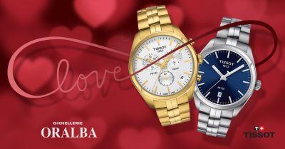 offerta orologi tissot idea regalo alba cuneo valenza occasione tissot san valentino