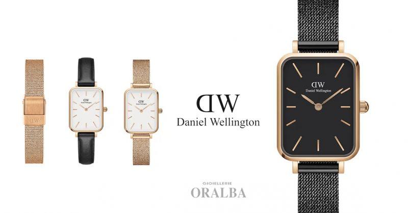 GIOIELLERIE ORALBA - Offerta Orologi Daniel Wellington Collezione Quadro Alba Cuneo