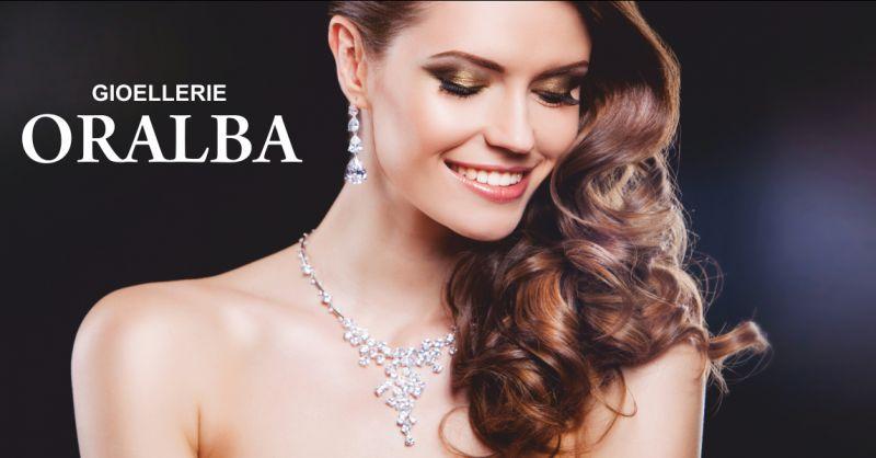 gioiellerie oralba offerta anelli in oro rosa alba - occasione gioielli in oro cuneo