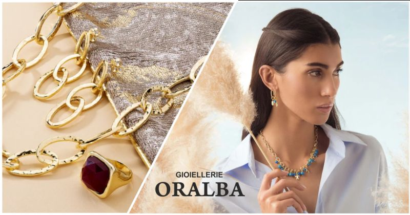 oralba offerta etrusca gioielli placcati in oro 18kt alba - occasione anelli etrusca gioielli cuneo