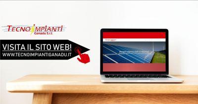 tecno impianti ganadu on line nuovo sito web