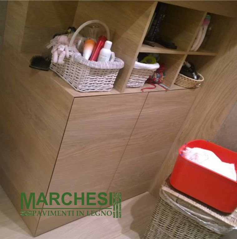 MARCHESI PAVIMENTI IN LEGNO offerta mobili su misura in legno - promozione mobili personalizzabili