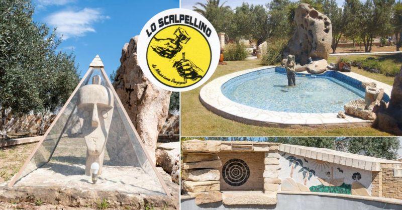 LO SCALPELLINO - offerta originali manufatti in pietra arredamento spazi esterni giardini