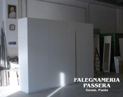 falegnameria passera offerta armadio a angolo promozione mobili su misura