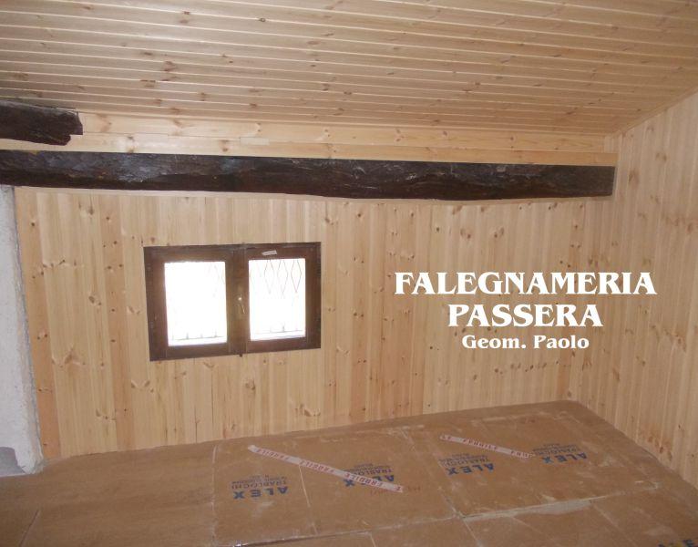FALEGNAMERIA PASSERA offerta rivestimento in legno mansarda – isolamento perlinato in legno