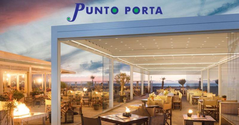 PUNTO PORTA - Pergole GIBUS e tende da sole per esterni Versilia