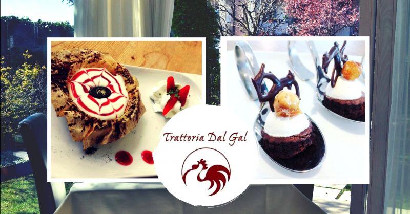offerta specialità dessert artigianali Verona - occasione trattoria dolci fatti in casa Verona