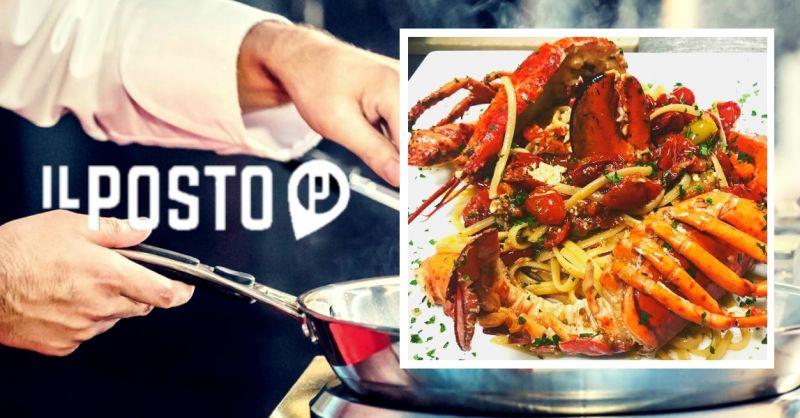 Offerta dove mangiare specialità primi di pesce - occasione menù di pesce Castel D'Azzano