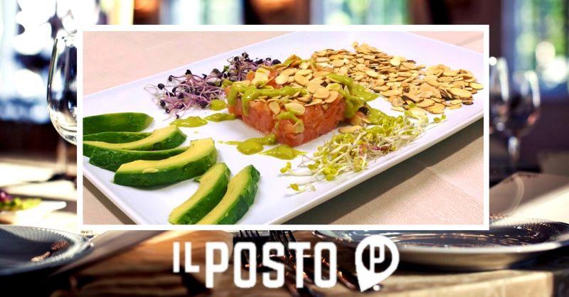 Offerta specialità tartare di pesce Verona - occasione ristorante con piatti gluten free Verona