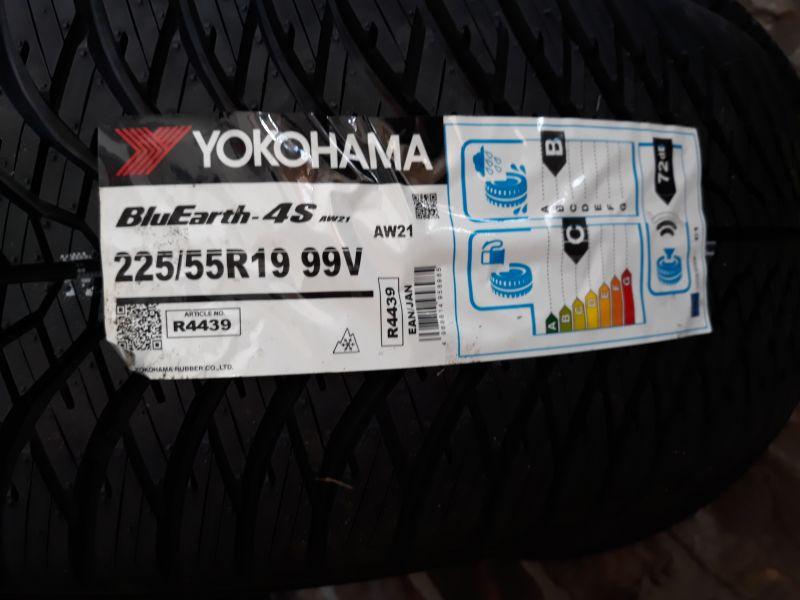 offerta promozioni pneumatici Yokohama 225 55 19 4 stagioni