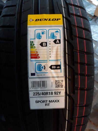 occasione vendita on line offerte saldi pneumatici gomme dunlop sport max 225 40 r18 92 y