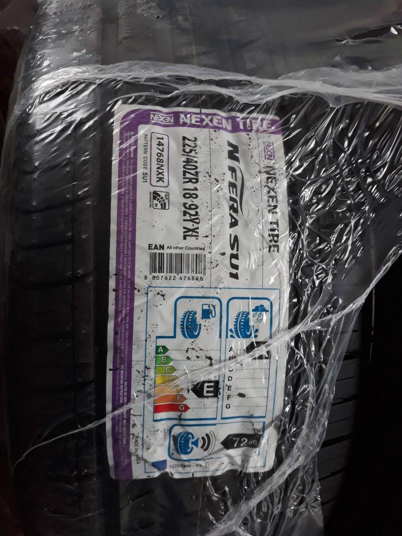 offerte saldi pneumatici gomme NEXEN NF-SU1 225/40 R18 92 Y  - IL PNEUMATICO DI GIO