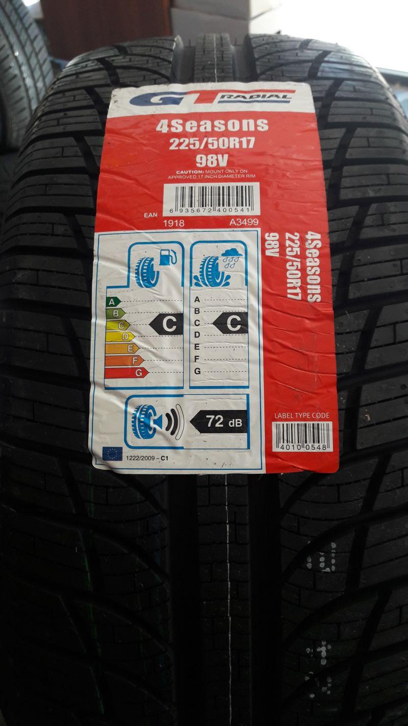 offerta saldi promozioni pneumatici cambio  gomme GT RADIAL ALL SEASON  - IL PNEUMATICO DI GIO