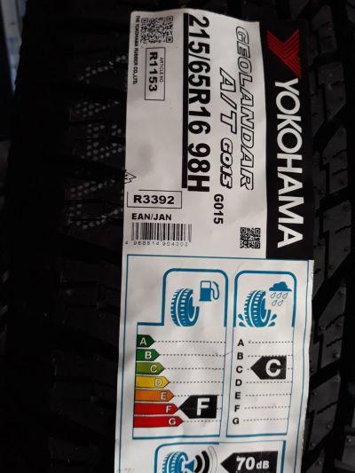 offerta pneumatici suv yokohama geolandar suv g055 215 65 r16 98h fuoristrada trasporto leggero scopri la qualit al miglior prezzo da il pneumatico di gio