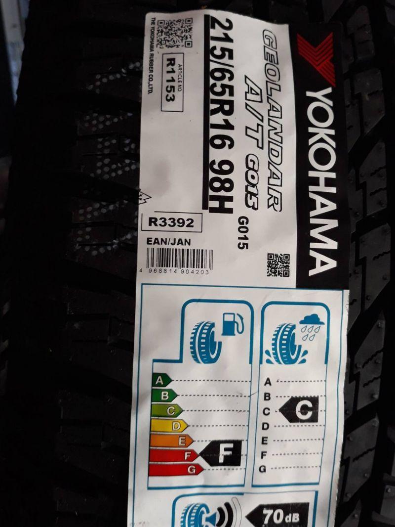 Offerta PNEUMATICI SUV Yokohama Geolandar SUV (G055) 215/65 R16 98H FUORISTRADA TRASPORTO LEGGERO - Scopri la qualità al miglior prezzo da IL PNEUMATICO DI GIO!