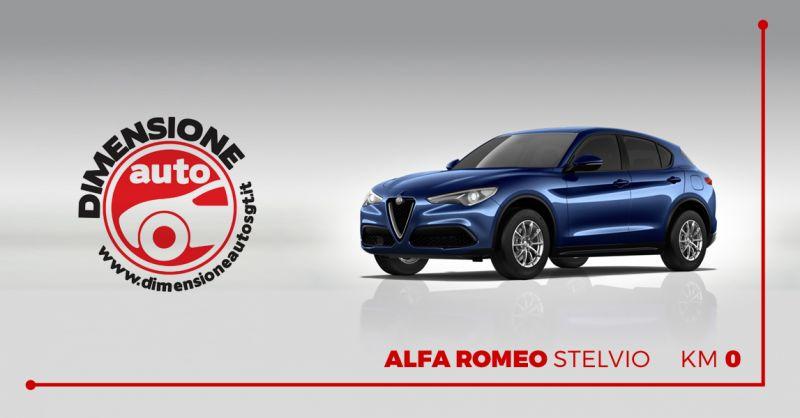 DIMENSIONE AUTO offerta vendita alfa romeo stelvio km 0 - occasione concessionaria alfa romeo