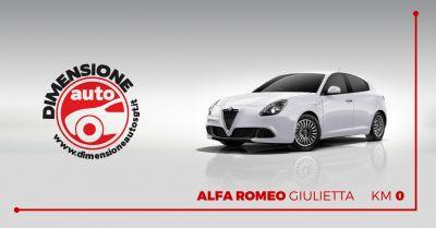 dimensione auto offerta vendita alfa romeo giulietta km0 occasione giulietta pronta consegna