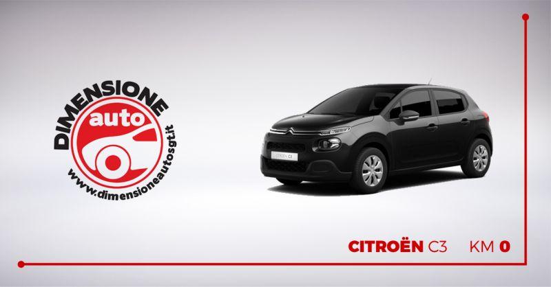 DIMENSIONE AUTO offerta vendita Citroen C3 km 0 - occasione citroen c3 pronta consegna