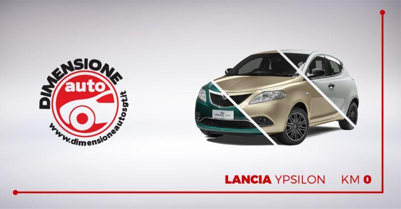 DIMENSIONE AUTO offerta vendita lancia ypsilon km0 - occasione concessionaria Lancia Pescara