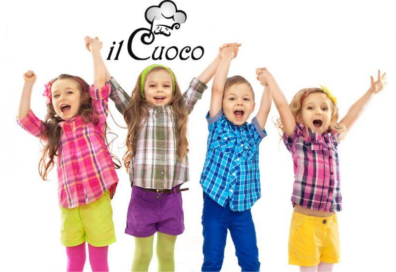 IL CUOCO promozione area gioco bambini video sorvegliata con ristorante Bologna