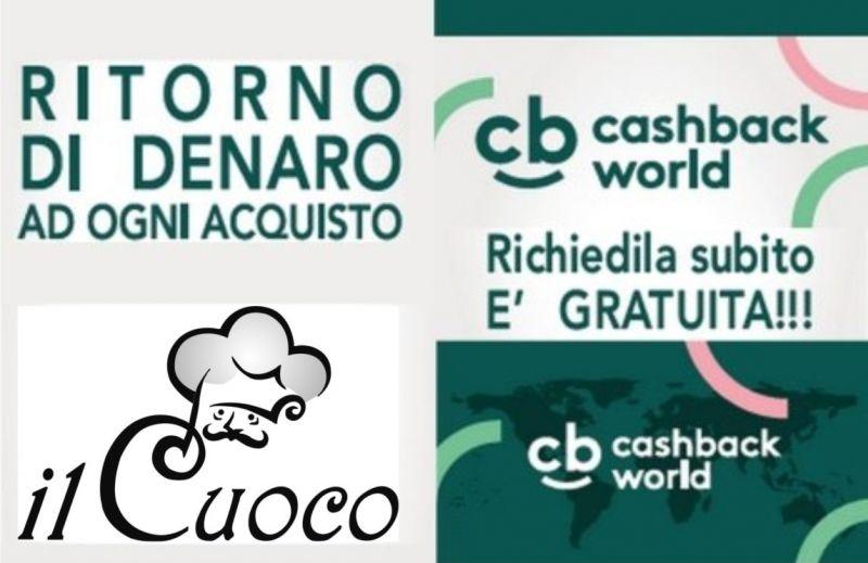 IL CUOCO offerta cashback world Bologna - occasione ritorno di denaro su acquisti Bologna