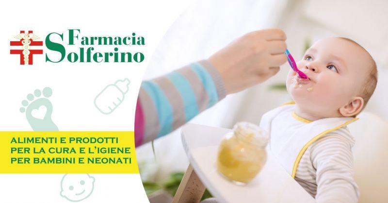 Farmacia Solferino - offerta alimenti per bambini e neonati parma - occasione prodotti di igiene e articoli per infanzia parma