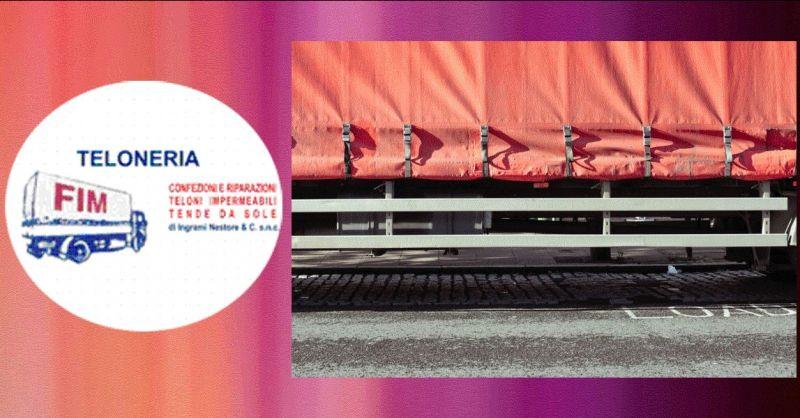 Offerta montaggio di teloni in PVC Modena - occasione riparazione di teloni impermeabili Modena