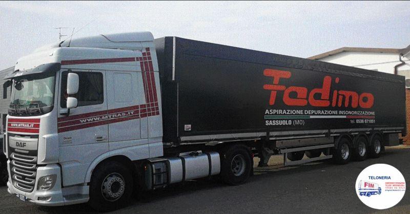 Offerta teloni per camion Modena - Occasione teloni per autocarri Modena