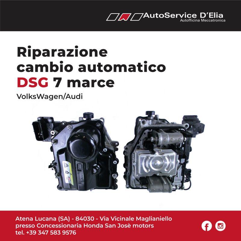 Riparazione DSG 7 marce Volkswagen/Audi.