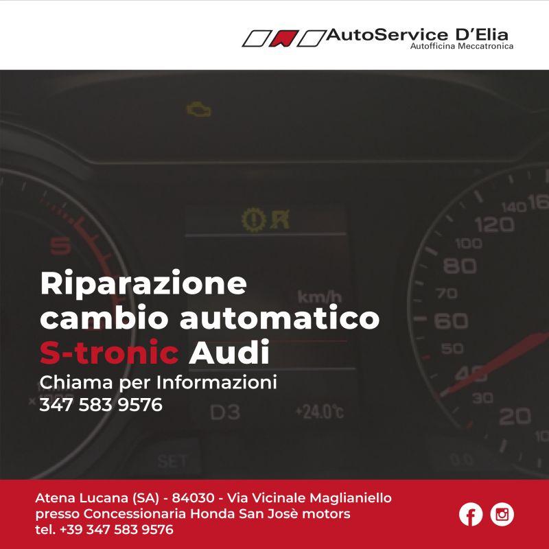 Riparazione Cambio S-tronic per la tua Audi!Evita costi eccessivi con la massima qualità.