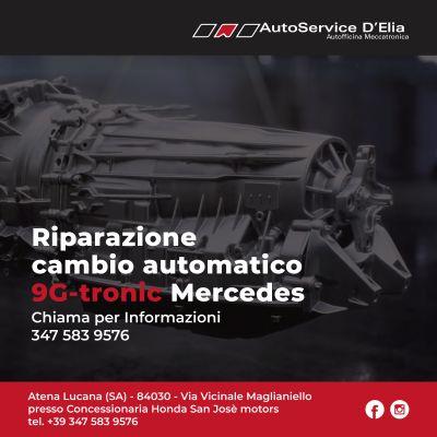 riparazione cambio automatico 9g tronic montato su mercedes benz