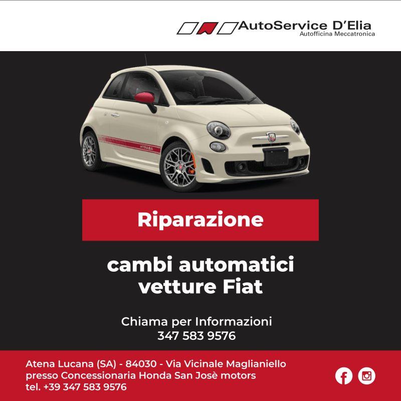 offerta Riparazione cambi automatici vetture Fiat FCA Salerno