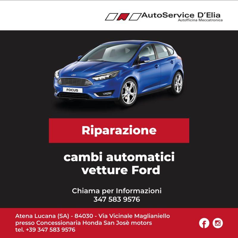 offerta Riparazione cambi automatici vetture Ford salerno