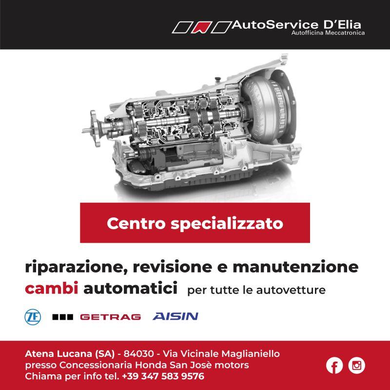 offerta centro specializzato in riparazione cambi automatici per tutte le vetture Salerno