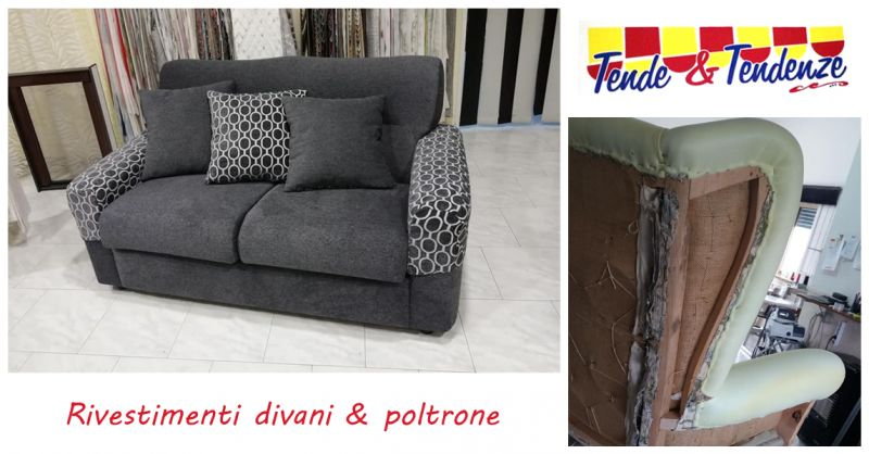 offerta rivestimento divani e poltrone atena lucana - occasione tappezzeria salotto salerno