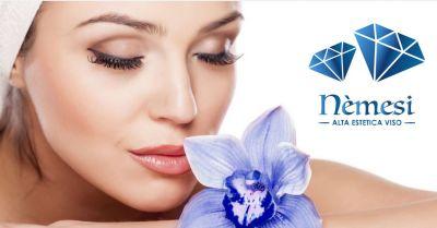 nemesi centro estetico offerta trattamenti anti age acne pori dilatati macchie cutanee
