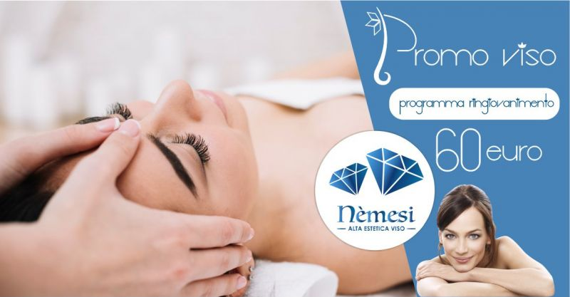 Nemesi studio estetico - promozione trattamento ringiovanimento viso
