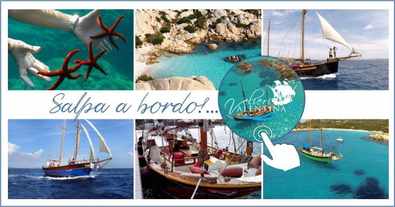 offerta gita Velieri Valentina arcipelago Maddalena Sardegna - escursione spiagge Corsica