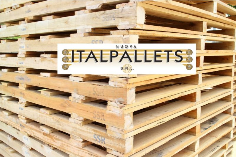 Offerta vendita pallets usati in legno Bologna - occasione produzione pallets in legno Bologna