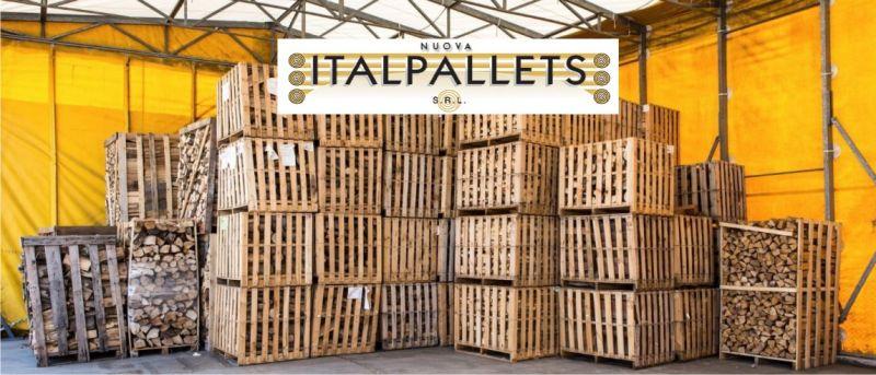 NUOVA ITALPALLETS - offerta vendita legna da ardere per stufe e caldaie Bologna