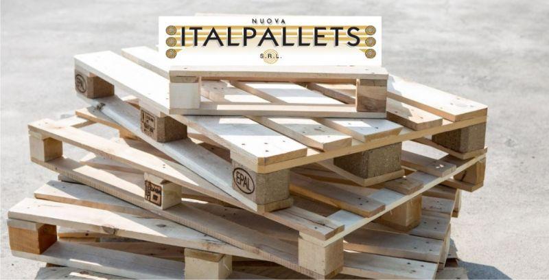 Offerta vendita pallets nuovi in legno Bologna - occasione riparazione pallets in legno Bologna