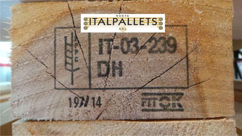 Offerta pallets in legno nuovi sterilizzati Bologna - occasione pallet trattamento HT Bologna