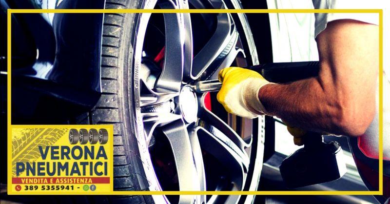 offerta vendita pneumatici e cerchi in lega Verona - occasione servizio cambio gomme Verona