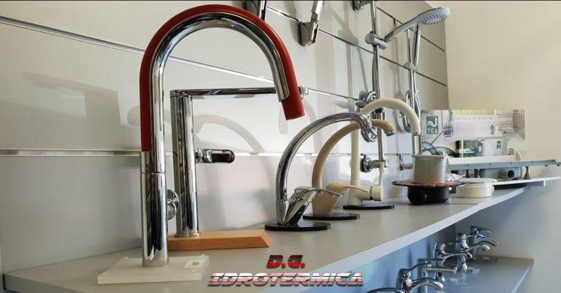 offerta vendita rubinetteria napoli - occasione vendita materiale idrotermosanitario napoli